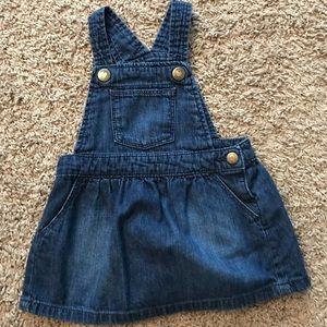 Other - Baby Gap denim overall dress